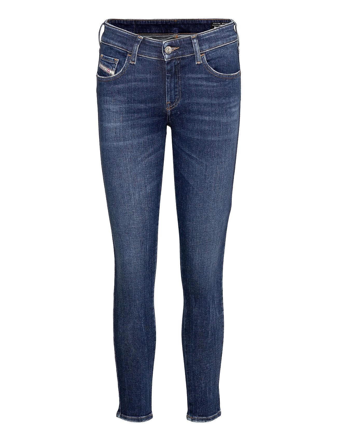 Slandy-Low L.30 Trousers Slim Jeans Blå Diesel Women