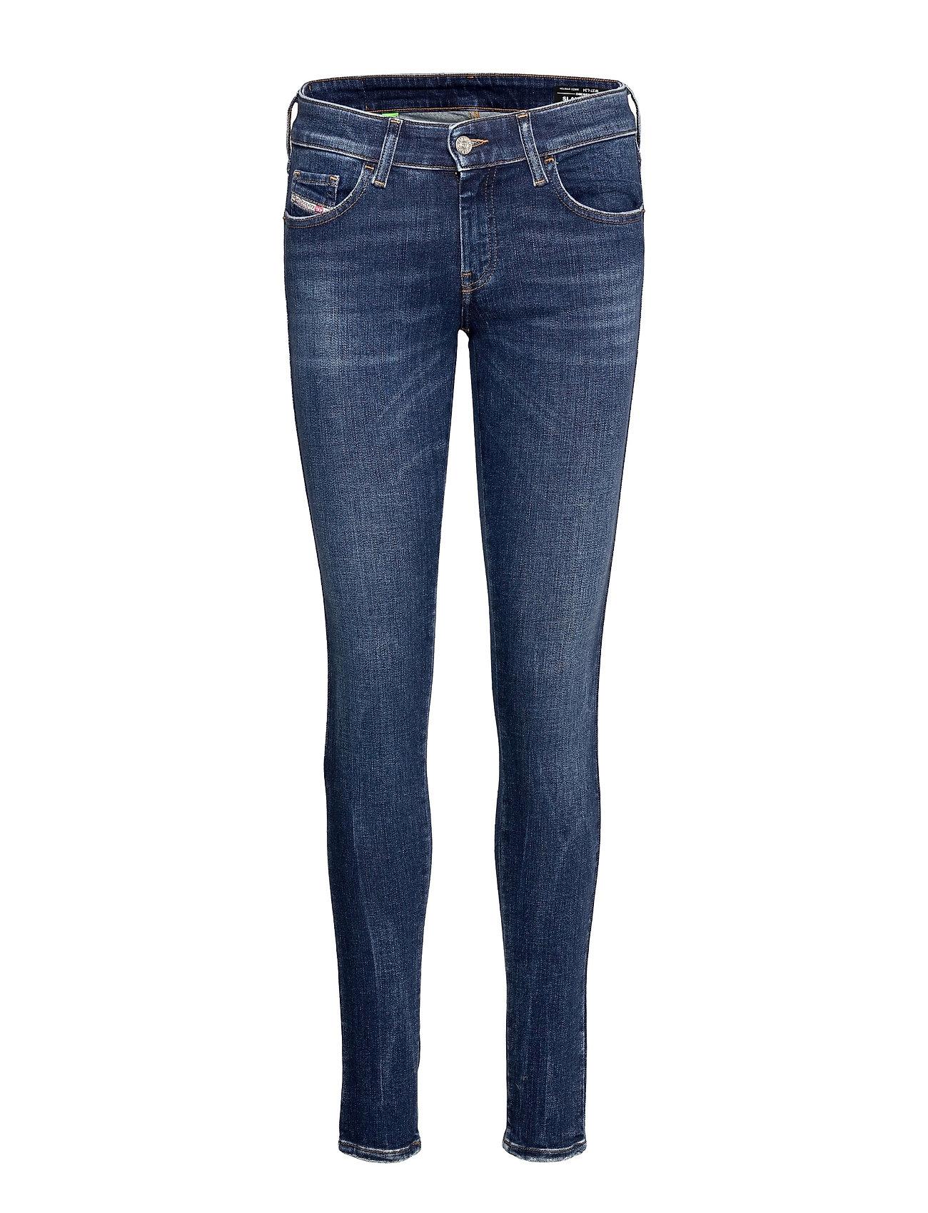 Slandy-Low L.34 Trousers Slim Jeans Blå Diesel Women