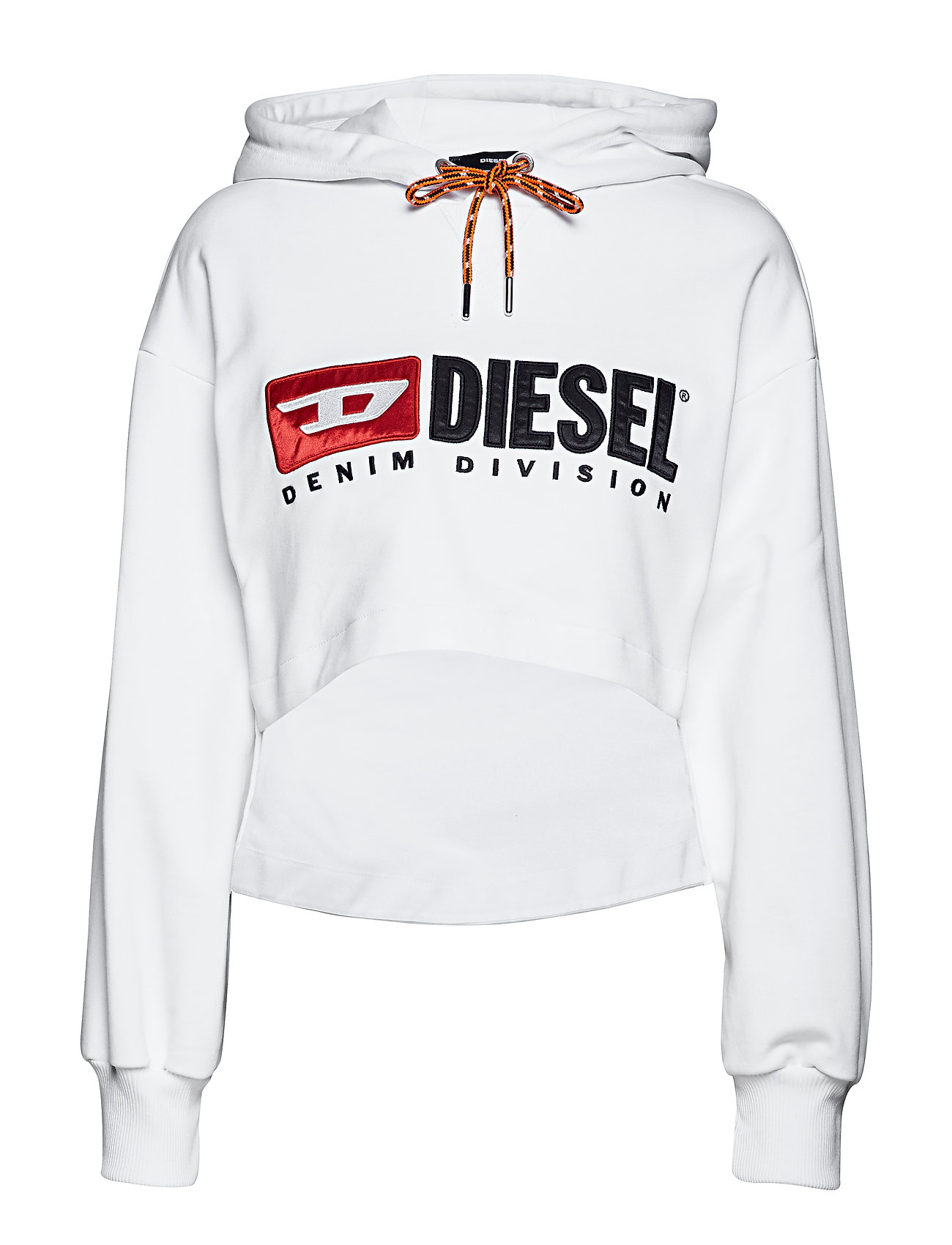 Diesel Women F-DINIE-A SWEAT-SHIRT - BRIGHT WHITE