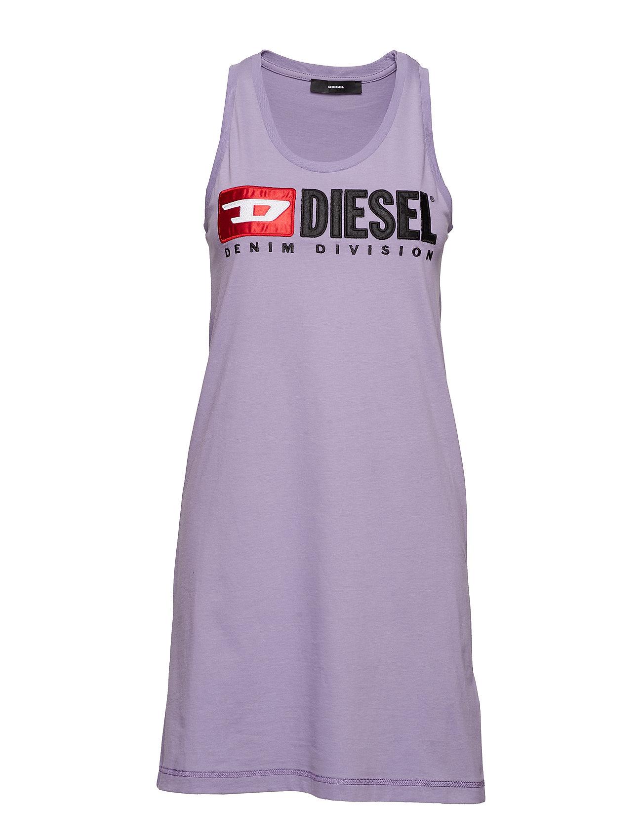 Diesel Women T-SILK SINGLET - CHALK VIOLET