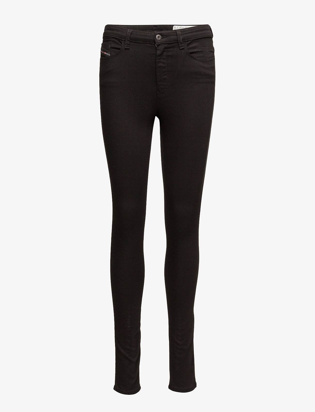 Diesel Women - SKINZEE-HIGH TROUSERS - dżinsy skinny fit - black/denim - 0