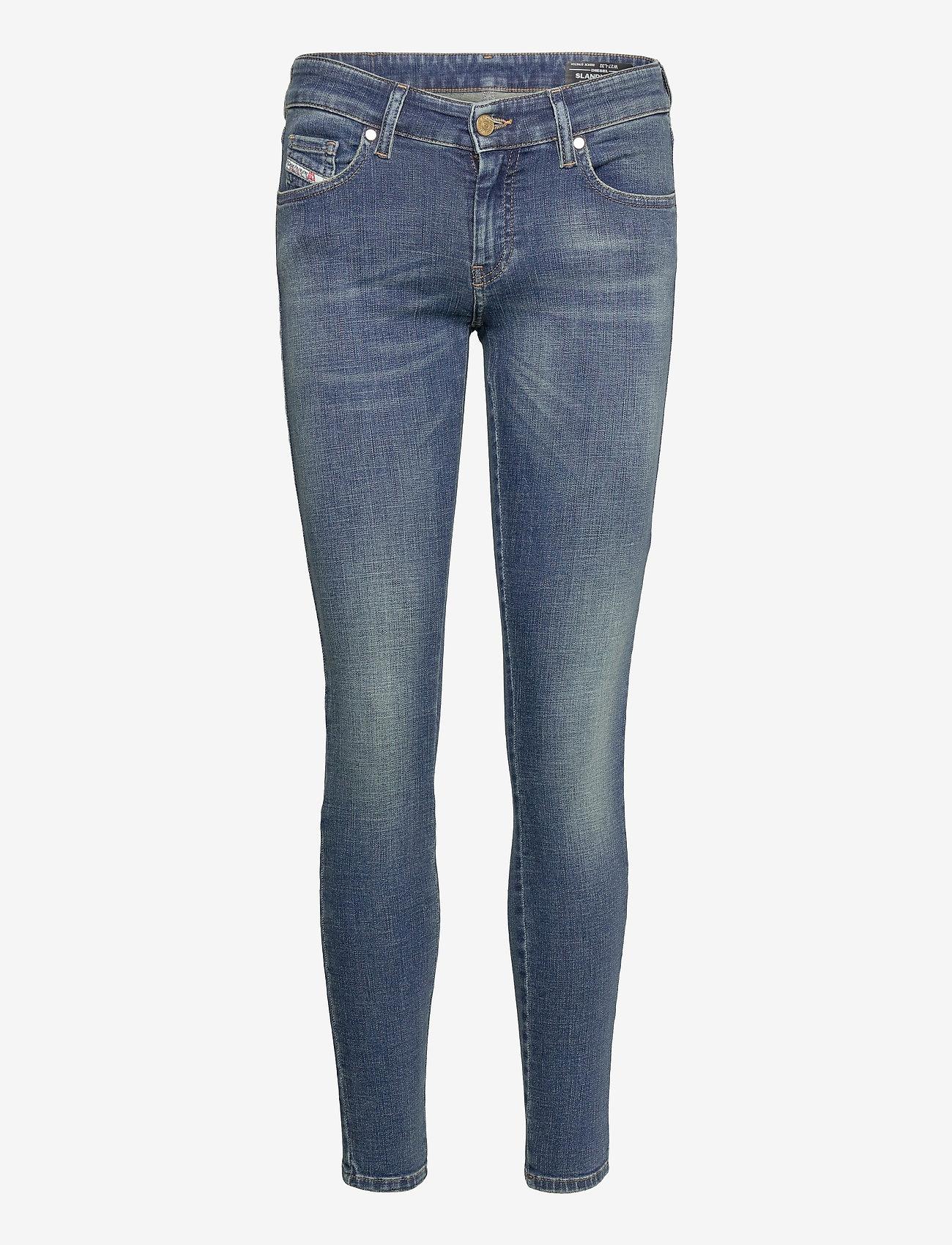 Diesel Women - SLANDY-LOW L.30 TROUSERS - slim jeans - denim - 0