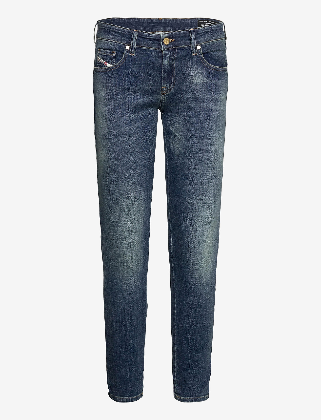 Diesel Women - SLANDY-LOW L.32 TROUSERS - slim jeans - denim - 0