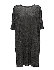 M-LOOSE DRESS - BLACK