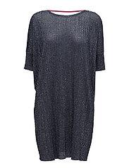 M-LOOSE DRESS - BLUE