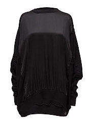 F-TARAP SWEAT-SHIRT - BLACK BLACK BLACK