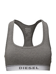 UFSB-MILEY TANK-TOP - DARK GREY MELANGE