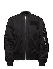 G-SOULY-FL JACKET - BLACK