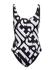 BFSW-FLAMNEW SWIMSUIT - BLACK