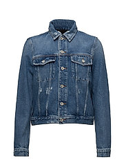 DE-VELVET JACKET - DENIM