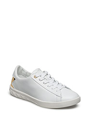 """SOLSTICE"" S-OLSTICE LOW W - sneake - WHITE/GOLD"