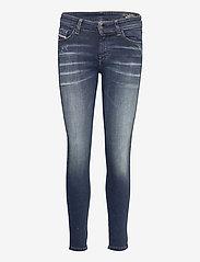 Diesel Women - SLANDY TROUSERS - dżinsy skinny fit - blue denim - 0