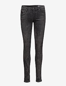 SKINZEE - dżinsy skinny fit - black/denim