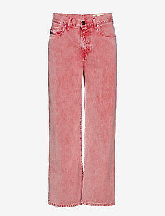 WIDEE TROUSERS - RACING RED