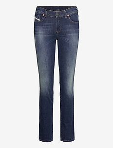 D-SANDY L.32 TROUSERS - slim jeans - blue denim