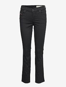 SANDY 0665W - bootcut jeans - black/denim