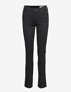 SANDY 0665W - dżinsy typu bootcut - black/denim