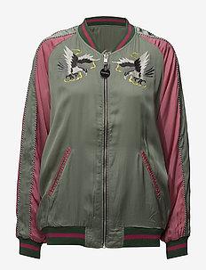 G-FRANK-A JACKET - bomber jackor - lily pad