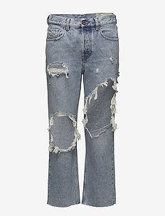 ARYEL TROUSERS - boyfriend jeans - denim