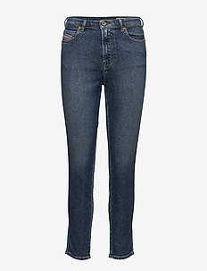 BABHILA-HIGH TROUSERS - slim jeans - denim