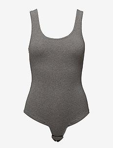 UFTK-BODY  Tank - body - dark grey melange