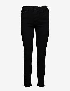 D-ROISIN L.30 TROUSERS - dżinsy skinny fit - black/denim