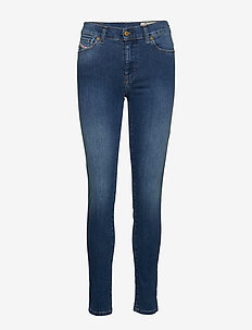 D-ROISIN L.32 TROUSERS - dżinsy skinny fit - denim
