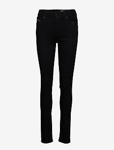 D-ROISIN L.34 TROUSERS - dżinsy skinny fit - black/denim