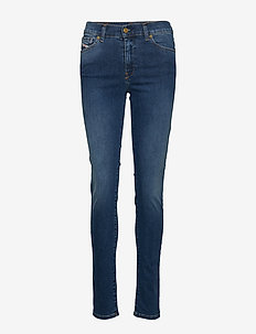 D-ROISIN L.34 TROUSERS - dżinsy skinny fit - denim