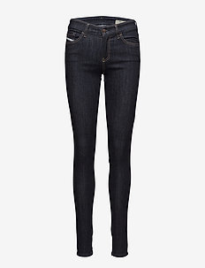 SLANDY TROUSERS - dżinsy skinny fit - denim