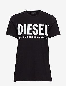 T-SILY-WX T-SHIRT - t-shirts - black