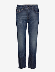 D-JOY L.30 TROUSERS - mom jeans - denim