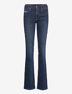 D-SLANDY-B - uitlopende jeans - blue denim