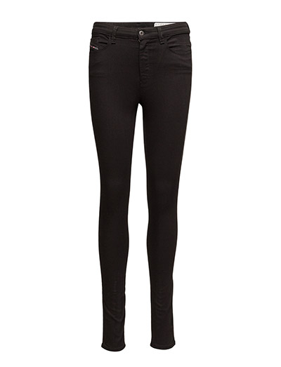 SKINZEE-HIGH TROUSERS - BLACK/DENIM
