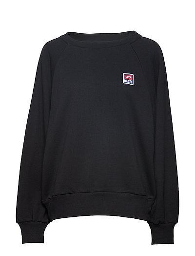 F-Henny-E Sweat-Shirt Sweat-shirt Pullover Schwarz DIESEL WOMEN