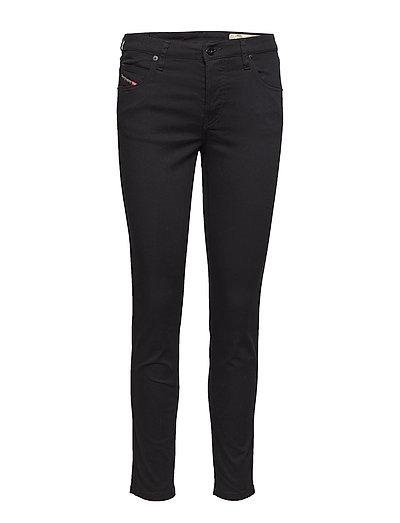 Babhila Trousers Slim Jeans Schwarz DIESEL WOMEN
