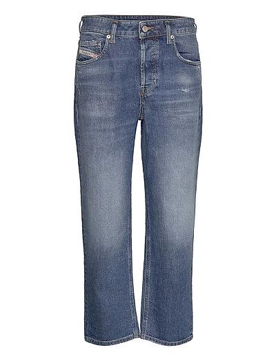 D-Aryel L.32 Trousers Straight Jeans Hose Mit Geradem Bein Blau DIESEL WOMEN | DIESEL SALE