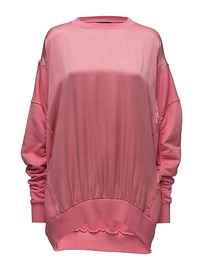F-Tarap Sweat-Shirt Sweat-shirt Pullover Pink DIESEL WOMEN