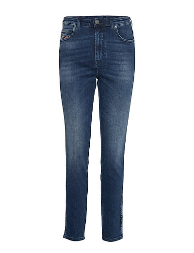 Babhila-High Trouser Slim Jeans Blau DIESEL WOMEN