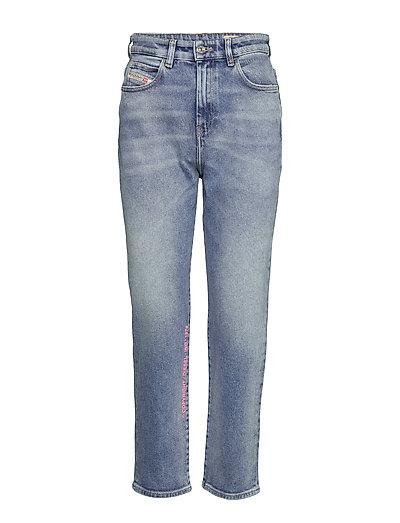 D-Eiselle L.30 Trousers Straight Jeans Hose Mit Geradem Bein Blau DIESEL WOMEN
