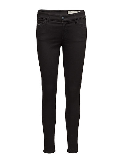 SLANDY L.30 TROUSERS - BLACK/DENIM