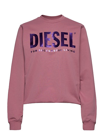 F-Ang Sweat-Shirt Sweat-shirt Pullover Pink DIESEL WOMEN