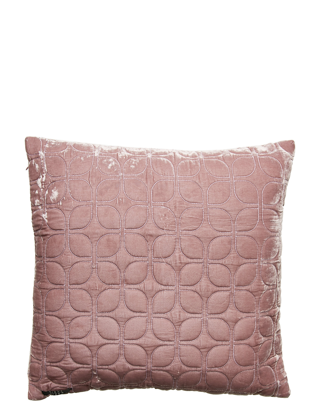 Dirty Linen Webster Decorative Cushion - BLACKBERRY PINK