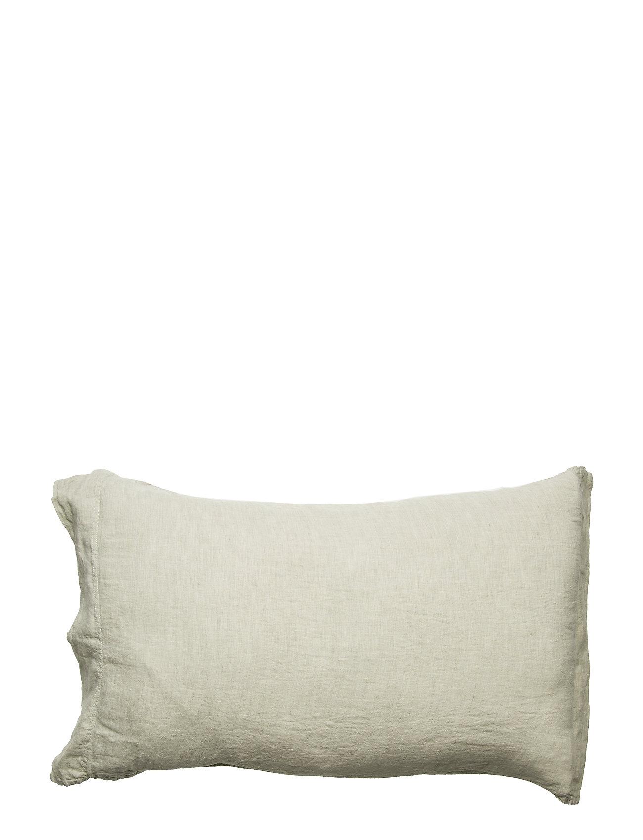 Dirty Linen Animeaux head pillowcase - PUTTY