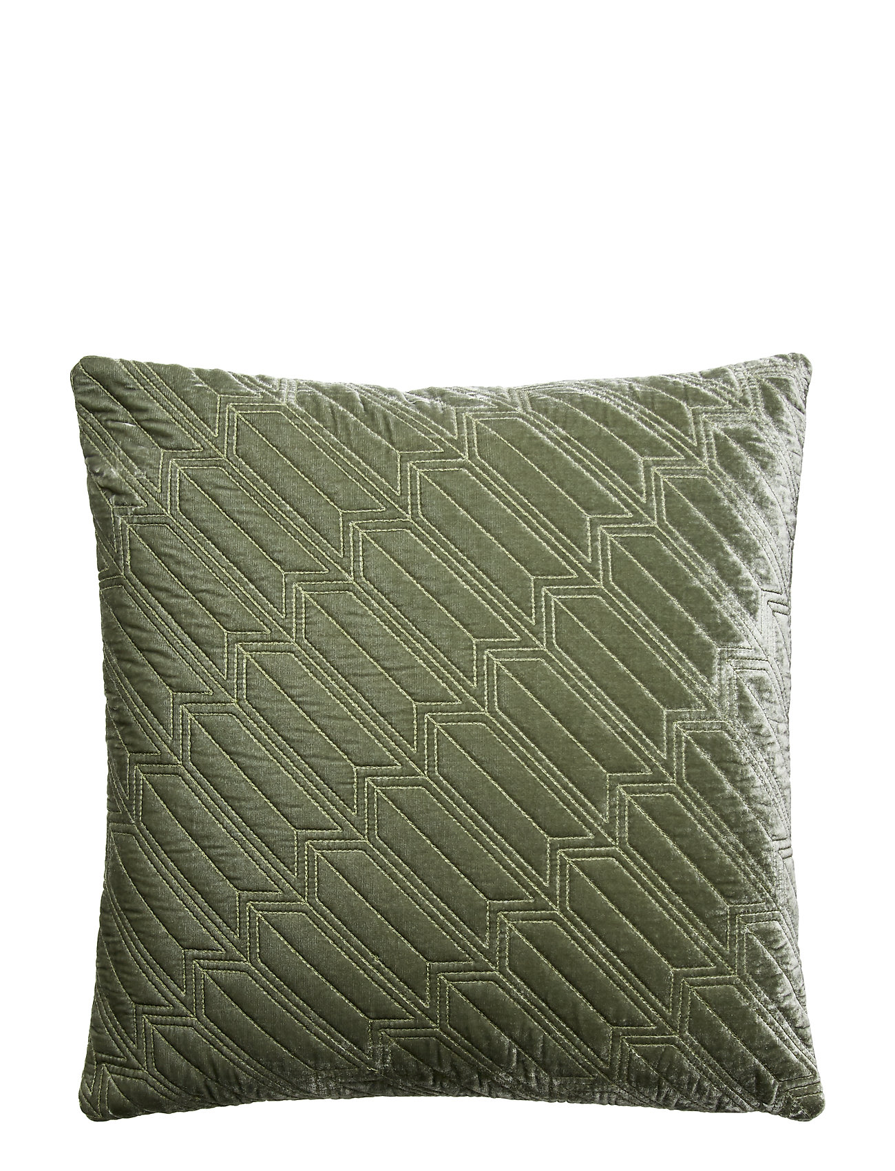 Dirty Linen Arrow decorative cushion - GREEN SHADE