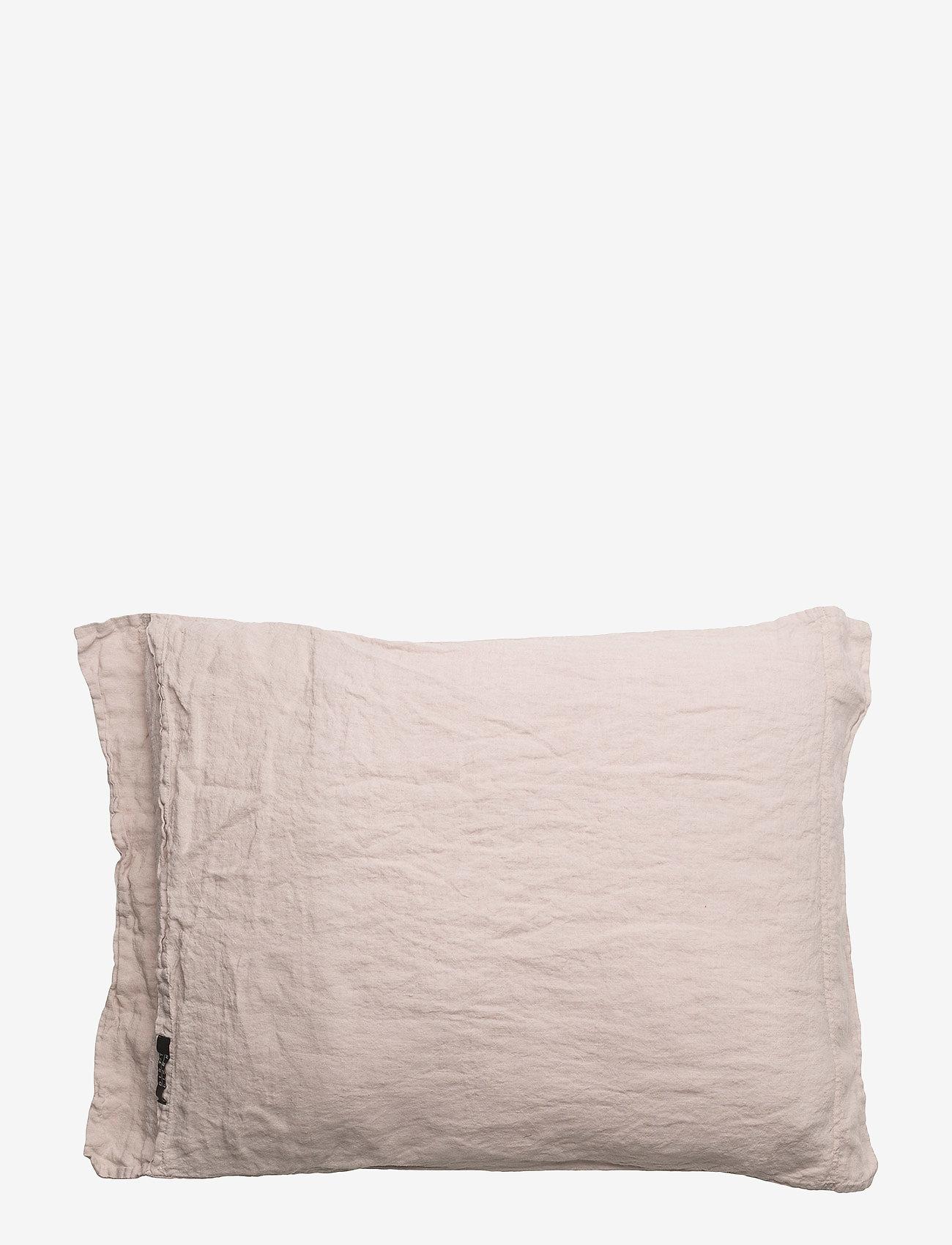 Dirty Linen - Animeaux Head Pillow case - tyynyliinat - pink blush