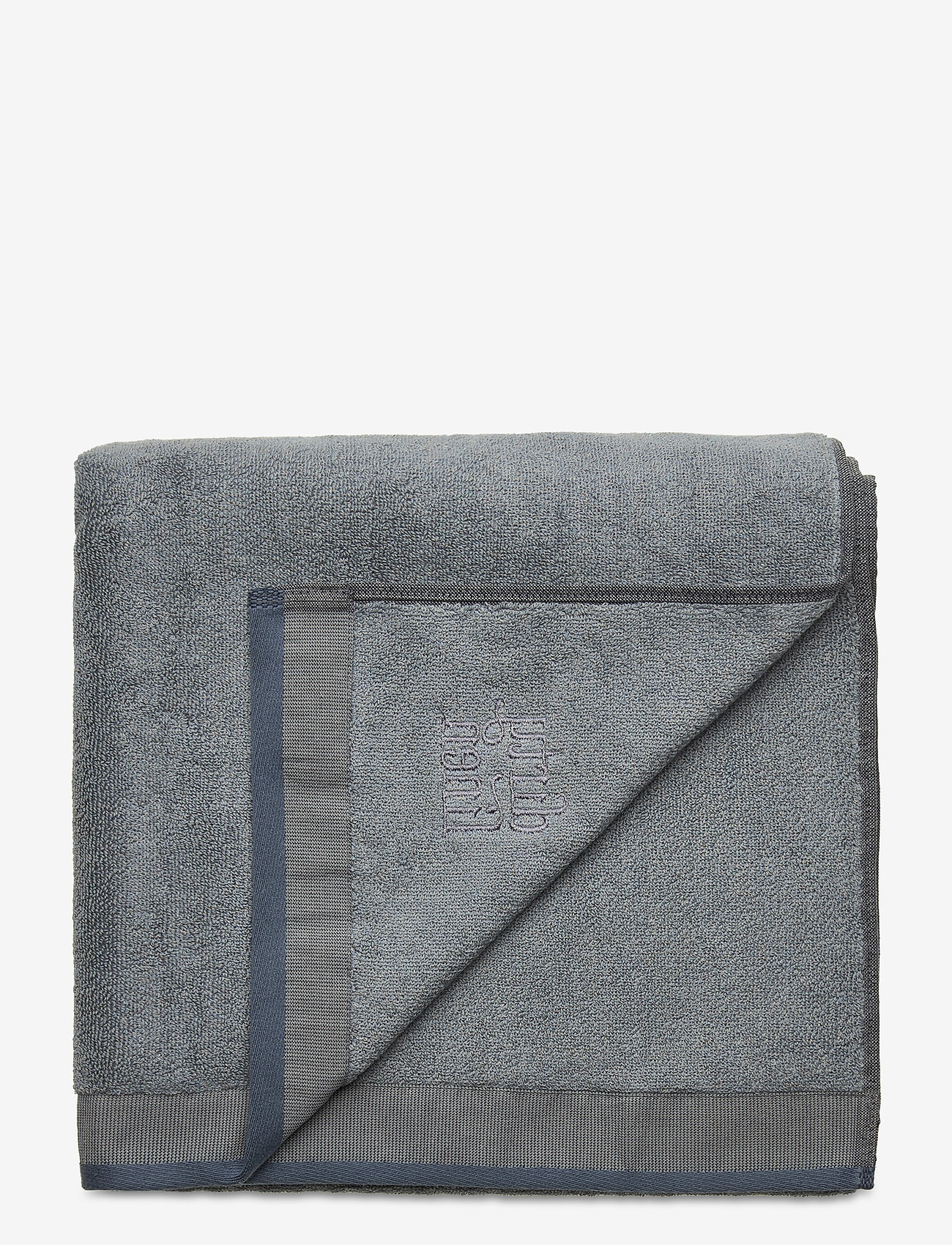 Dirty Linen - Terry R Eco Bath towel - handdoeken en badhanddoeken - faded blue - 0