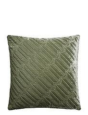 Arrow decorative cushion - GREEN SHADE