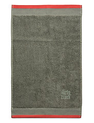 Terry R Eco Bath towel - OLIVE GRENADINE
