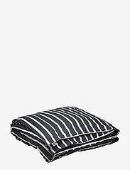 Dirty Linen - Randy Duvet Cover - deckenbezüge - ink white - 0